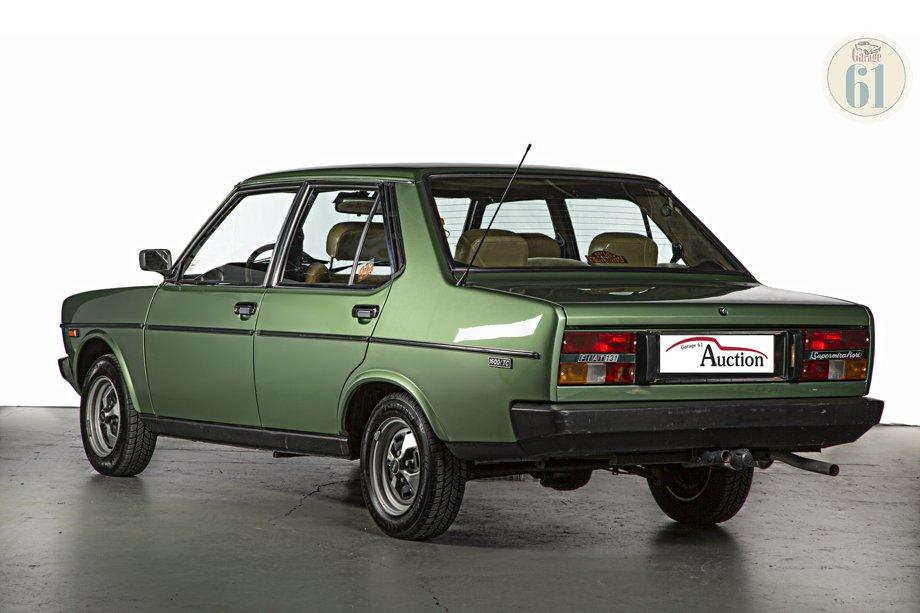 Lot 56 Fiat 131 Supermirafiori 1978 Oldtimer Auction