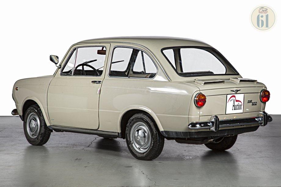 Fiat 850 Spider >> LOT 87 Fiat 850 Berlina - 1966 - OLDTIMER AUCTION - L'ASTA ...